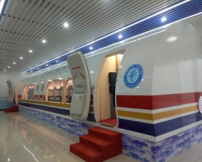 B737-800模拟训练舱